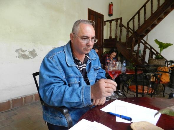 José Manuel Simón, integrante del jurado