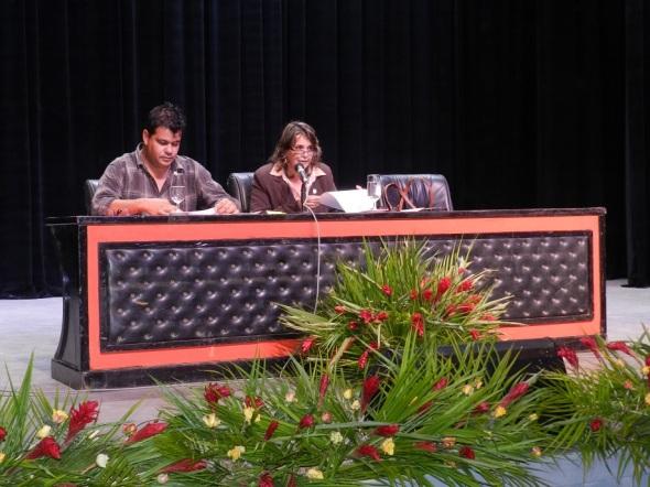 La presidenta de la Asamblea Municipal Lisette Bouza Cabrera hizo la propuesta