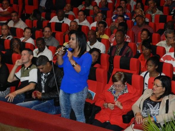 La propuesta de candidatura de los 33 a delegados a la Asamblea Provincial del Poder Popular