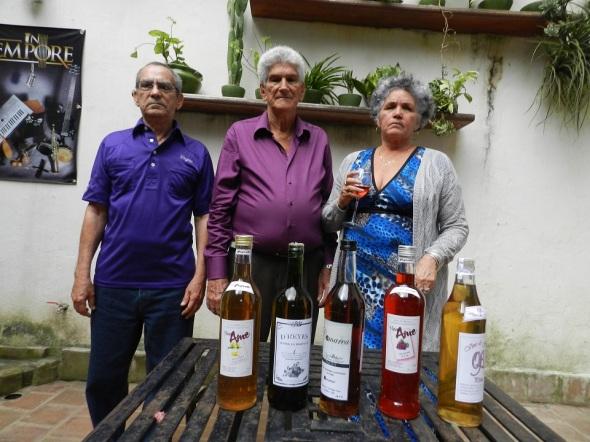 Máximos ganadores del Festival Provincial de Vinicultores Artesanos
