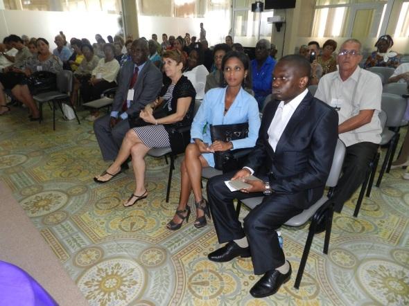Representantes de Embajada de Gambia en Cuba