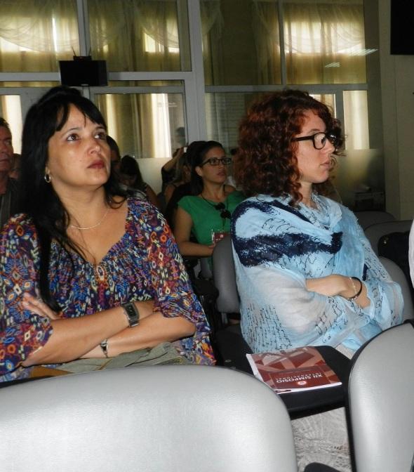 Delegadas al Simposio Internacional Desafíos en el Manejo y Gestión de Ciudades