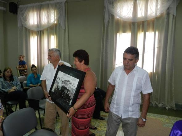 Empresa Provincial de Restauración y Conservación de Camagüey recibió hoy el Premio Alarife Público, Fulgencio Arambula