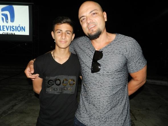 Johandry Aballe Sosa  y Carlos Denis Fernández Menéndez