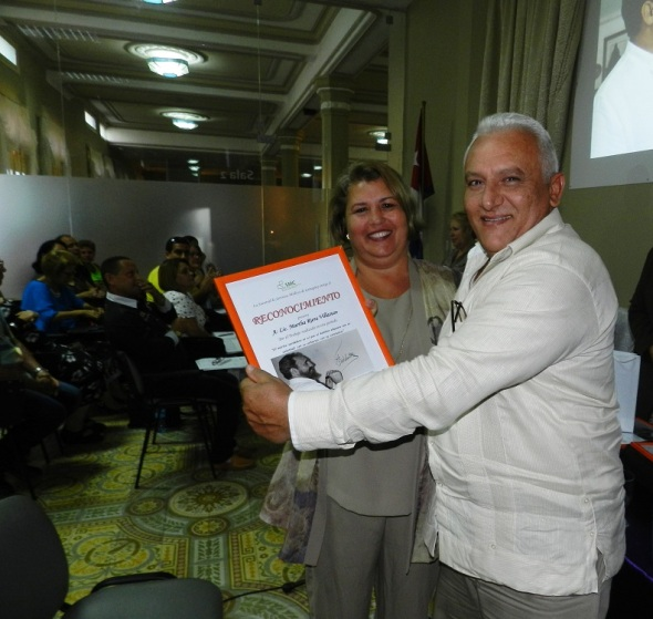 Martha Riera Villasuso, premio por los resultados