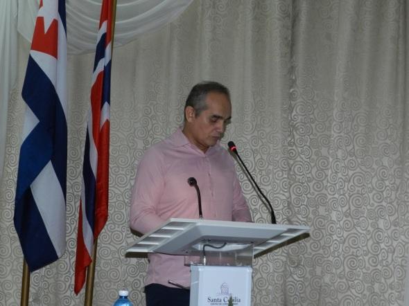 Nilson Acosta Reyes, secretario ejecutivo de la Consejo Nacional de Patrimonio Cultural