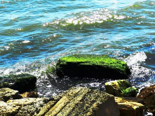 Paisaje marino desde el malecon