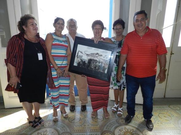 Parte del colectivo de la Empresa Provincial de Restauración y Conservación de Camagüey
