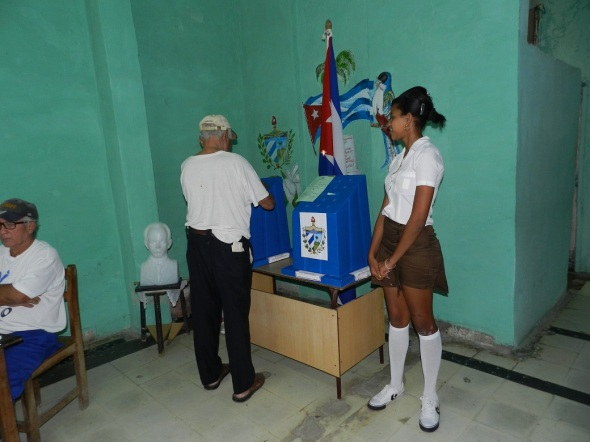 El voto por la patria