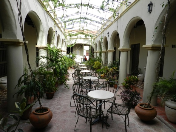 En el hostal La Avellaneda