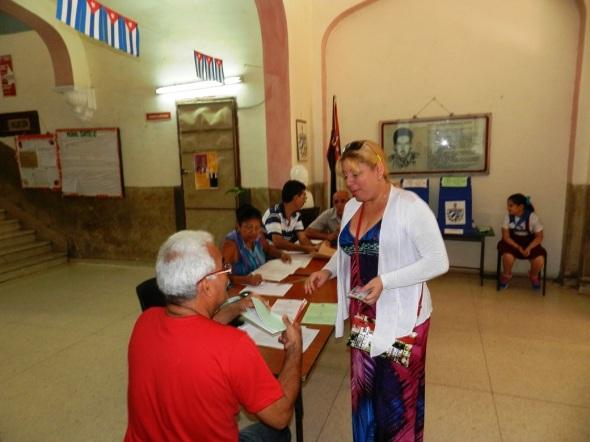 Machan satisfactoriamente comicios generales en este municipio cabecera provincial