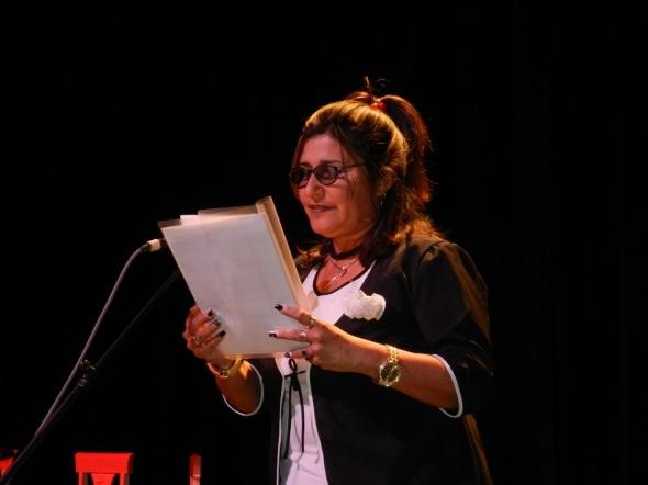 Presidenta de la Asamblea del Poder Popular en Camagüey, Isabel González Cárdenas