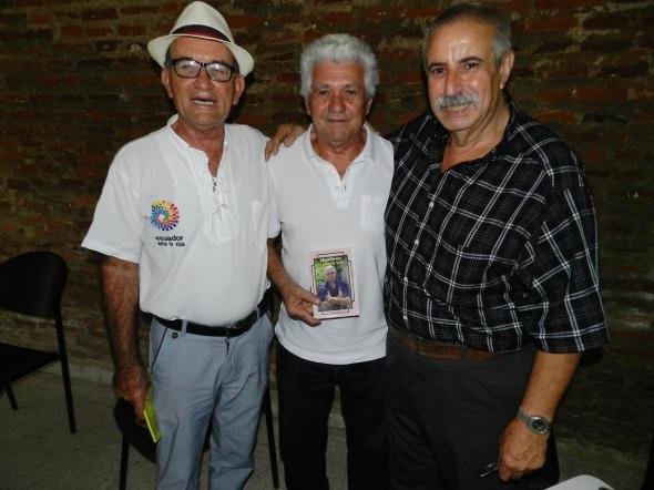 Sergio Morales, Roberto Manzano y Ernesti Aguero
