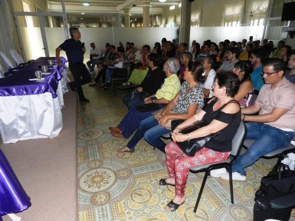 Sesiones de la Comisión de Ciudad, Arquitectura y Patrimonio de la Unión de Escritores y Artistas de Cuba