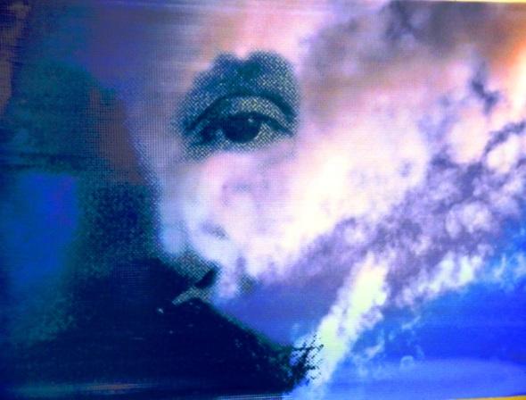 Sin título De la serie Sol y loma. Dimensiones 75x 130 cm. Técnica Arte digital. Autor Nazario Salazar