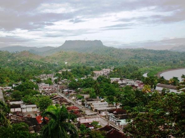 El Yunque, Verde sitial en el  oriente cubano