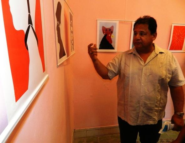 Falco en su tinta se exhibe en Camagüey