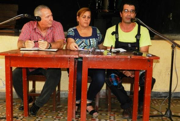Gabriel Enrique Castillos Santos enfatizó que la edición de 2018 tiene entre los objetivos la promoción de la narración oral en la provincia