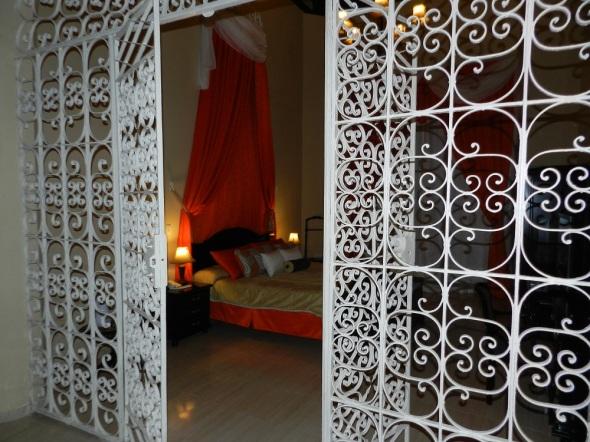 Habitacion matrimonial Hotel La Avellanda