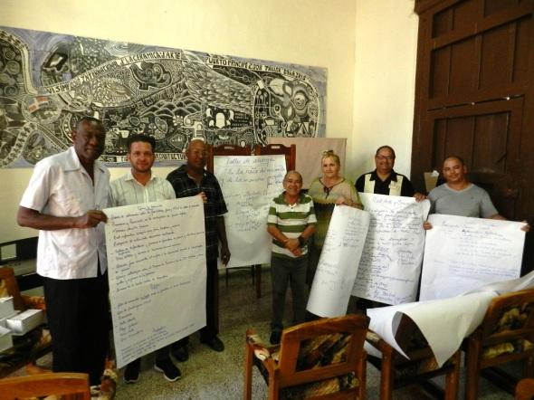 Integran el grupo la UNEAC, el Poder Popular, las direcciones de Salud Pública y Educación, el Ministerio del Interior, entre otros