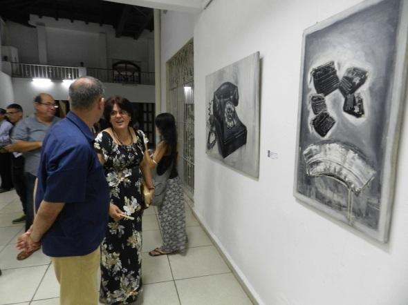 Los objetos Silentes, exposición personal del artista de la plástica Oscar Jr. Rodríguez Martínez