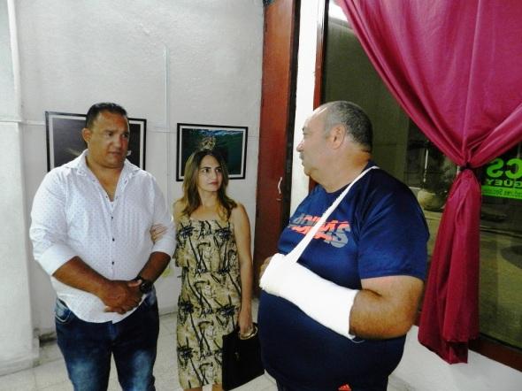 Noel López Fernández, también director de centro de buceo AVALON