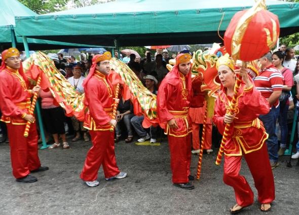 Las tradiciones chinas en Romerias