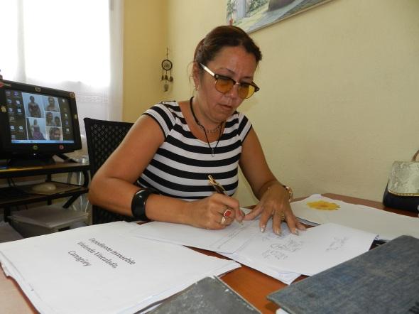Ana Ivis Soluntalván Russ, registradora Principal