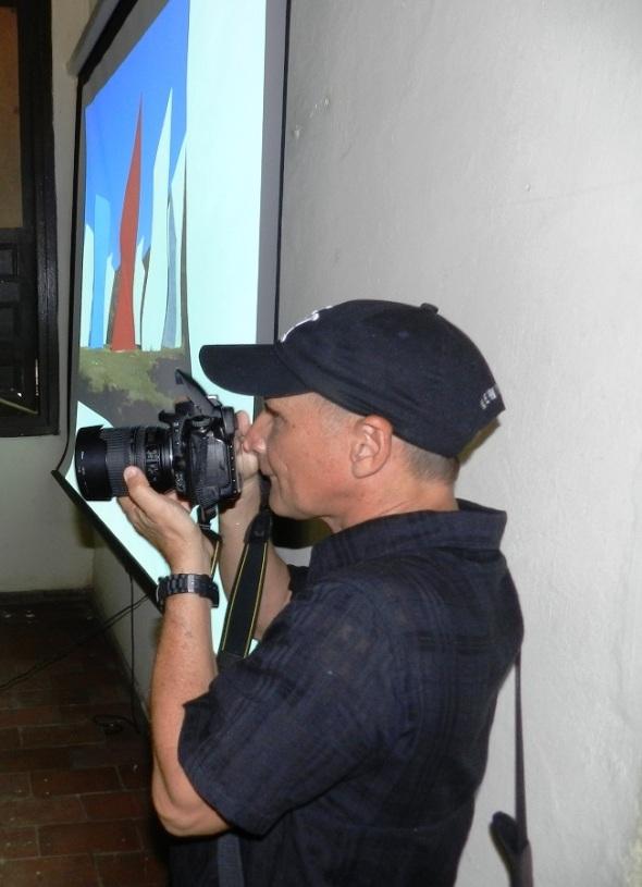 Artista santiaguero del lente René Silveira Toledo