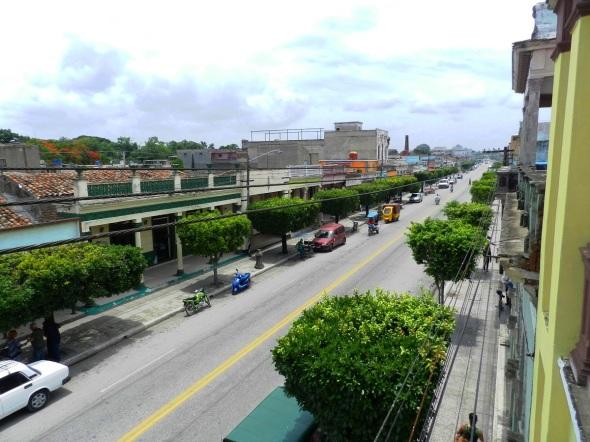 Avenida de la Libertad donde se encuentra Registro de la Propiedad en la ciudad de Camagüey
