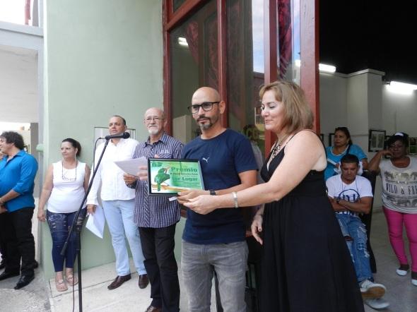 David González Pérez, uno de los premiados
