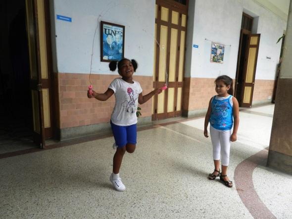 En la escuela Josué Pais