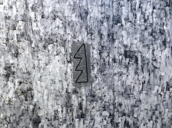 Joel Jover. Titulo El invierno, Dimensiones 130 x 155, Técnica Óleo y lienzo. Año 2017.