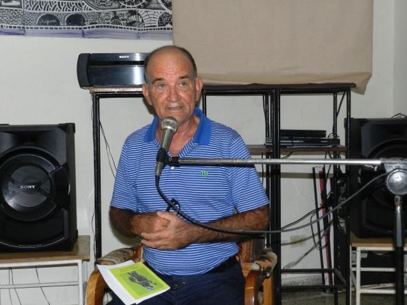 Sergio Morales Vera, presidente del Comité Provincial de la UNEAC