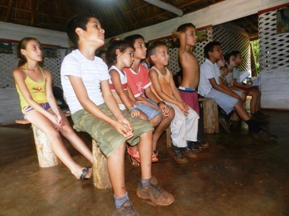 Actividad cultural con niños de Vilató