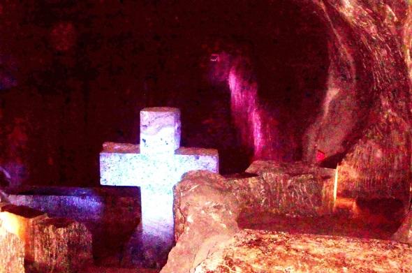 Catedral de Sal en las profundidades de la tierra