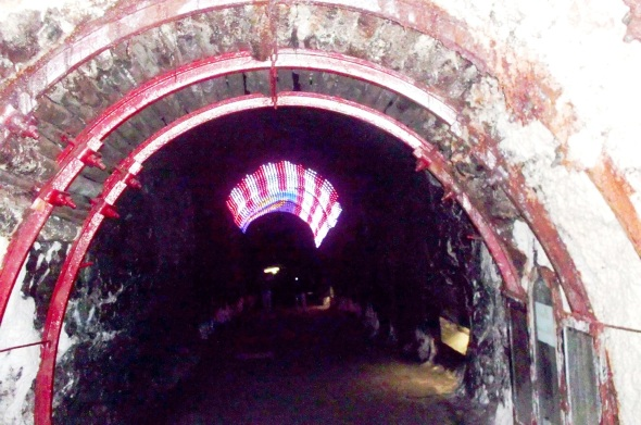 Los tuneles de la mina de sal