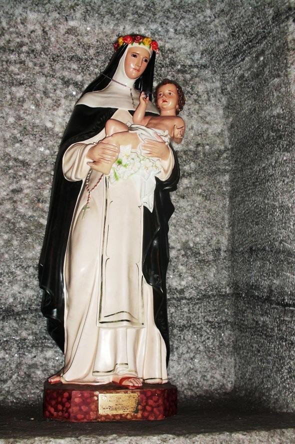 Nuestra Señora del Rosario, que en la religiosidad católica es la Patrona de los Mineros