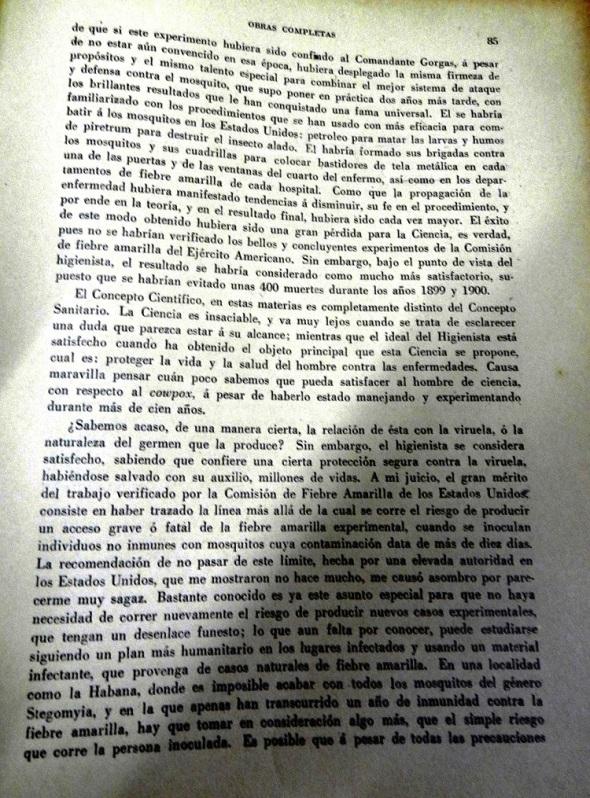 Obras Completas,  página 85
