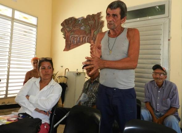 Uno de los subsidiados por el Estado cubano