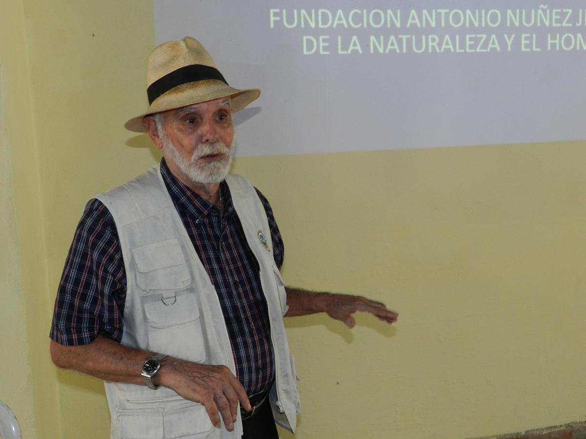 Vicepresidente de la Fundación Antonio Núñez Jiménez de la Naturaleza y el Hombre