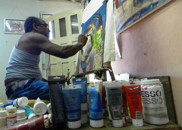 Doopis, estarán reflejados en sus nuevas pinturas, grabados, dibujos y cerámicas