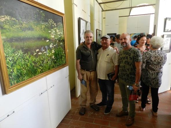 Es transitar por décadas del arte de quienes nacidos o formados en Camagüey