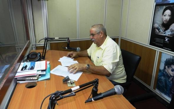 La conducción del filólogo y escritor Ernesto Aguero García