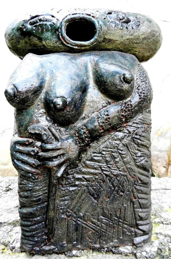 Madre de los Ticolochis ceramica