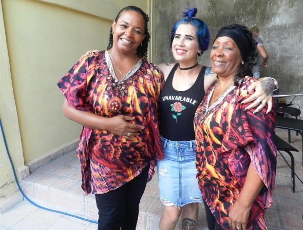 Margarita Morales con el duo VOCES