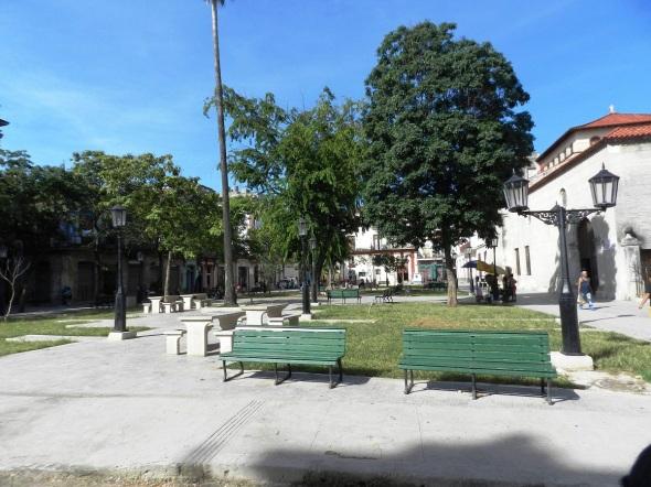 La Plaza del Cristo, en La Habana