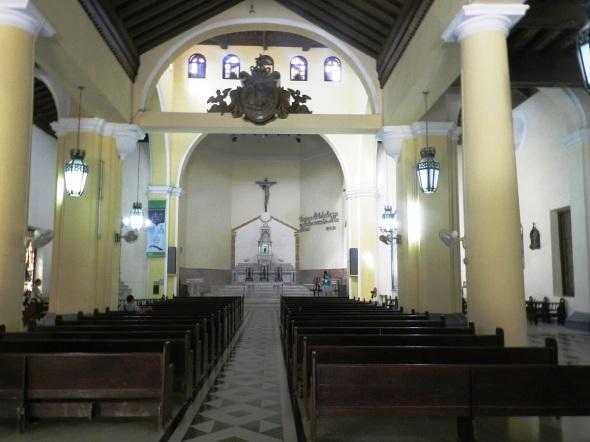 Interior de la Parroquia Santo Cristo del Buen Viaje, La Habana