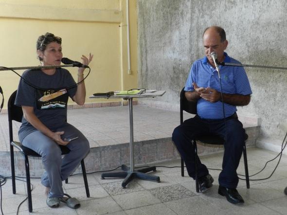 Yoandra Francisca Santana Perdomo y Sergio Morales Vera