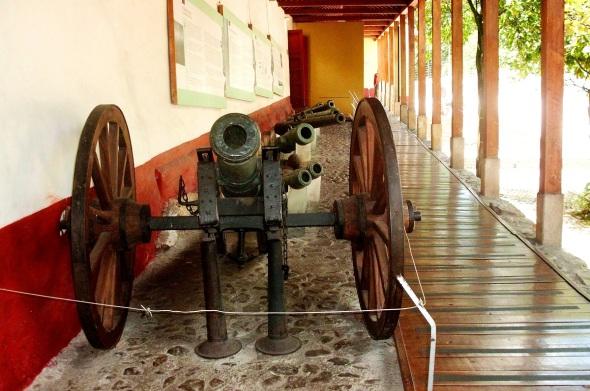Cañón en Casa Museo Quinta Bolivar